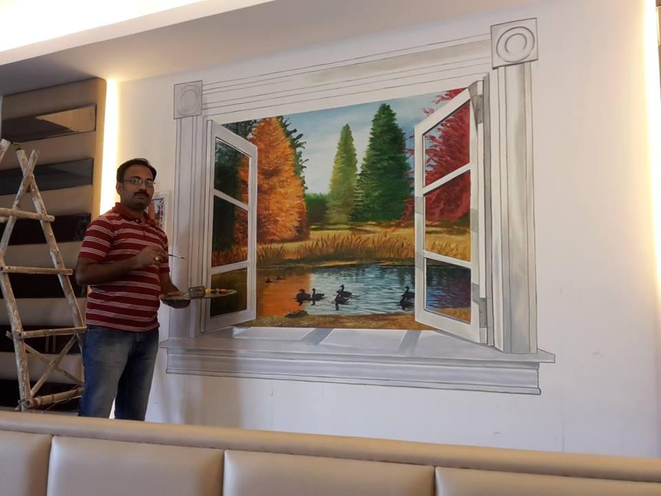 Interior Wall Art 2d 3d 4d Wall Art Painting Designs